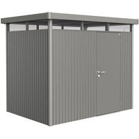 2,75 x 1,95 m quarzgrau-metallic Einzeltür