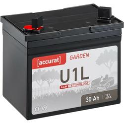 Accurat Garden U1L AGM 12V Rasentraktor-Batterie 30Ah