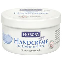 ENZBORN® Handcreme mit Jojobaöl  und UREA, Glättet die Haut spürbar, 250 ml - Dose