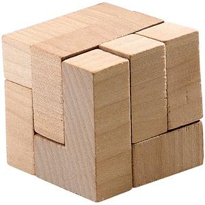 """Geduldspiel """"Der Zauberwürfel"""" aus Holz"""