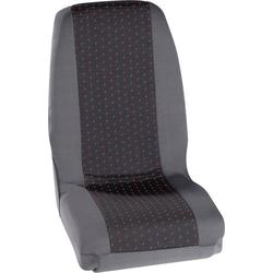 Petex 30070012 Profi 1 Sitzbezug 4teilig Polyester Rot, Anthrazit Fahrersitz, Beifahrersitz