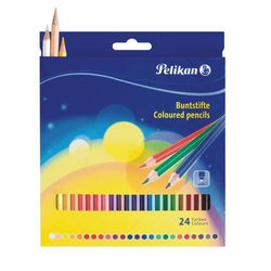 Buntstifte Standard dreieckig 24 Farben sortiert