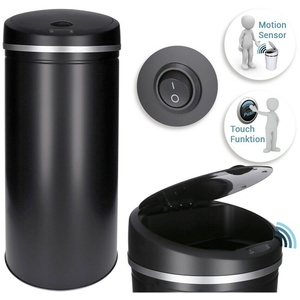 30L Automatik Sensor Mülleimer (schwarz), automatisches öffnen/schließen