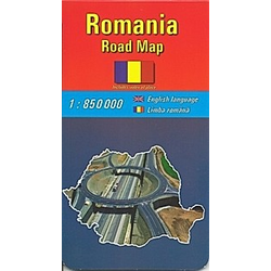 Romania Road Map - Buch