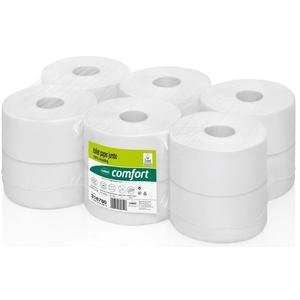wepa comfort Toilettenpapier Mini-Jumborolle 2-lagig