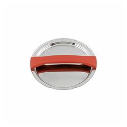 Fissler Topfdeckel Magic Line Metalldeckel Rot 16 cm rot