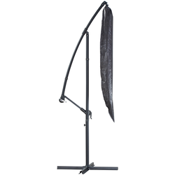 KONIFERA Sonnenschirm-Schutzhülle, LxB: 190x32 cm grau Sonnenschirme -segel Gartenmöbel Gartendeko Sonnenschirm-Schutzhülle