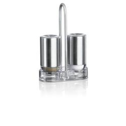 Emsa Salz- und Pfeffer-Menage ACCENTA Material: Edelstahl 18/10 und Kunststoff