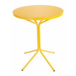 Metalltisch Pix Schaffner AG gelb, Designer Schaffner, 70 cm