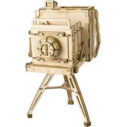 Fotoapparat Lasercut Holzbausatz