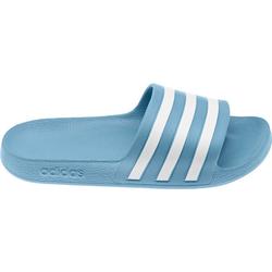 adidas Adilette, blau, Gr. 40 2/3 - 40 2/3 - blau