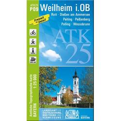 Weilheim i.OB 1 : 25 000