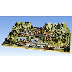 NOCH Modelleisenbahn-Fertiggelände Silvretta, Spur H0, Made in Germany