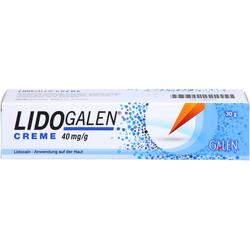 LIDOGALEN 40 mg/g Creme 30 g