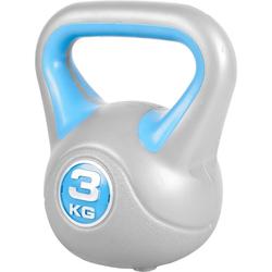 GORILLA SPORTS Kettlebell Kettlebell Stylish Kunststoff 3 kg, 3 kg