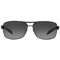 Prada Rossa PS54IS DG05W1 black rubber / grey