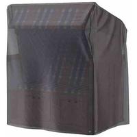 Aerocover Atmungsaktive XL Schutzhülle 150 x 105 x 165 cm anthrazit