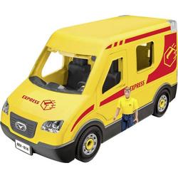 Revell 00814 Paketdienst-Fahrzeug mit Figur Automodell Bausatz 1:20