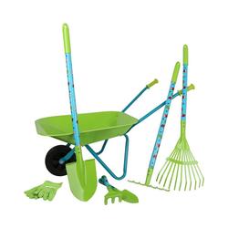 Small Foot Spielzeug-Gartenset Großes Gartenset mit Schubkarre