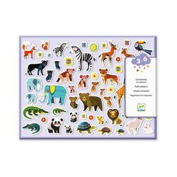 DJECO Sticker Sticker - Mutter und Babies bunt