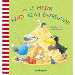 Der kleine Rabe Socke - Alle meine Kindergartenfreunde ISBN-Nr.=978-3-480-30235-2 Seitenanzahl: 64 S