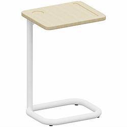 PLAY&WORK Beistelltisch mit Tischplatte aus Echtholz