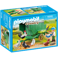 Playmobil Country Mobiles Hühnerhaus (70138)