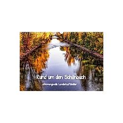 Rund um den Schönbuch (Wandkalender 2021 DIN A3 quer)