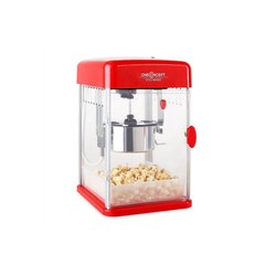 ONECONCEPT Popcornmaschine Rockkorn Popcornmaker 350W Rührwerk 23,5 x 38,5 x 27cm