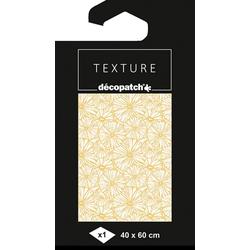 décopatch Motivpapier Décopatch Hot-Foil Papier Boomy, 40 cm x 60 cm