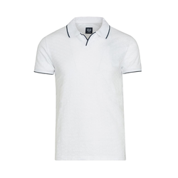 Lavard Weißes Polohemd 72977