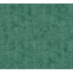 A.S. Création Vliestapete Neue Bude 2.0 Uni in Vintage Optik, uni grün