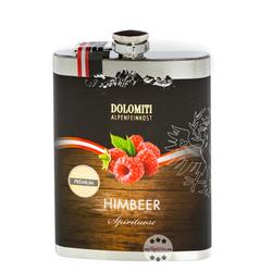 Dolomiti Flachmann Himbeer Schnaps 0,2l