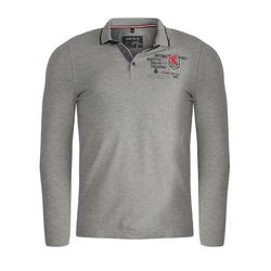 MARVELIS Longsleeve Poloshirt - Longsleeve - Uni grau S