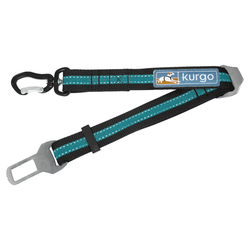 Kurgo Verbindungsstück Direct to Seatbelt Swivel Tether blau
