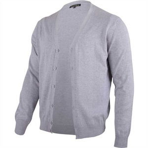 hemmy Fashion Cardigan (1-tlg) Cardigan Jacke Pullover Herren, in vielen versch. Größen verfügbar grau M