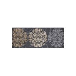 Fußmatte Salonloewe Fliesenkreise Fußmatte waschbar 75 x 190 cm, Salonloewe
