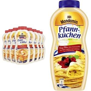 Mondamin Shaker American Pancake, 8er Pack (8 x 215 g) & Shaker Pfannkuchen 8er-Pack (8 x 198g)