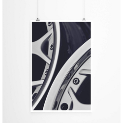 Sinus Art Poster Bild – Autofelgen 60x90cm Poster
