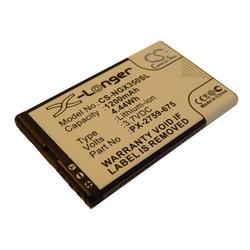 vhbw Li-Ion Akku 1200mAh (3.7V) für Navigationsystem GPS Navgear Motorradnavi Tourmate SLX-350 wie PX-2759-675.