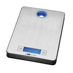 CLATRONIC Küchenmaschine, Edelstahl Küchenwaage LCD-Display Digital Batteriebetrieb Tara Clatronic KW 3412