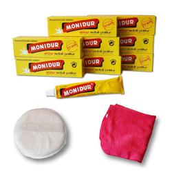 Autowaschbürste Poliermittel Politur Metall Chrom Schutz, Monidur, (10-tlg)