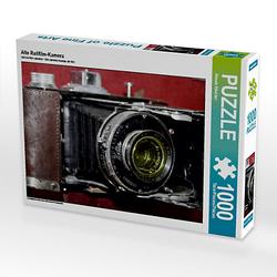 Alte Rollfilm-Kamera Lege-Größe 64 x 48 cm Foto-Puzzle Bild von Renate Bleicher Puzzle