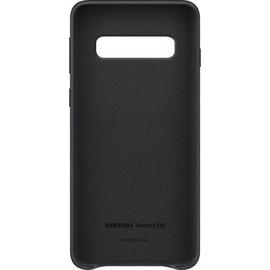 Samsung Leather Cover EF-VG973 für Galaxy S10 schwarz