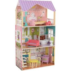 KidKraft® Puppenhaus Poppy Puppenhaus, inklusive Möbel