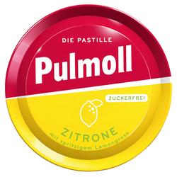 PULMOLL Hustenbonbons Zitrone+Vitamin C zuckerfrei