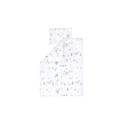 Julius Zoellner Bettwäsche in weiß mit Muster Sweet Forest, 100 x 135 cm
