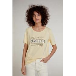 Oui T-Shirt T-Shirt mit französischem Text 46