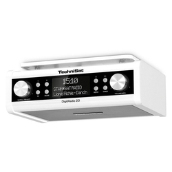 TechniSat DigitRadio 20 Küchenunterbau-Radio weiß Radio