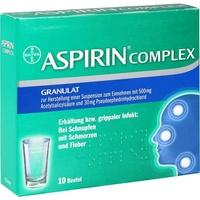 BAYER Aspirin Complex Btl.m.Gran.z.Herst.e.Susp.z.Einn.